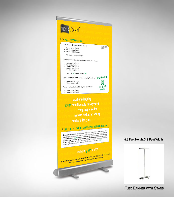 Flex Banner Standees Amp Hoarding Printing Content